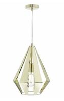 Tessa 1 Light Pendant, Brass | LV1802.0107