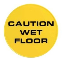 SAFETY SIGN ROUND WET FLOOR