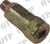 """Coupling 1/4"""" BSP Male"""