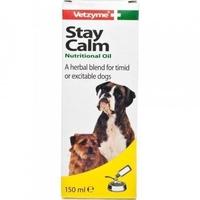 Vetzyme Stay Calm Nutritional Oil 150ml x 1