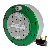 10m Cable Reel 10A 4 Socket - CT1010 (INFIN8)