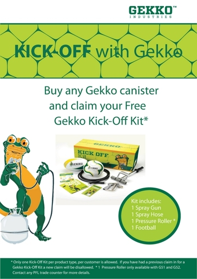 Gekko Kick Off Promotion