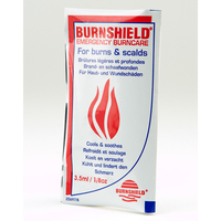 Burnshield Hydrogel and Burn Blotts