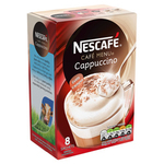 Nescafe Cappuccino Gold 8pk 136g x6