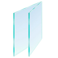 Glass 24 x 12in Cut Size