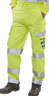 ARC Flash FR Anti-Static Hi-Vis Trousers