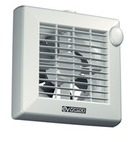 "Punto Fan - 100mm 4"" Automatic Shutter"
