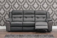 Lucca Leather Sofa - 3RR