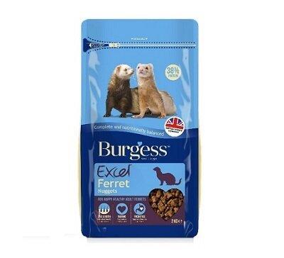 Burgess Excel Ferret Nugget Food 2kg
