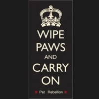 Pet Rebellion Stop Muddy Paws - Wipe Paws & Carry On 45 x 100cm x 1