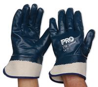 Heavy Duty Full Dip Nitrile Safety Cuff Glove