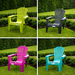 Dolomiti Garden Chair Various Colours