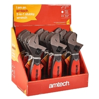 Amtech Stubby Dual Function Adjustable Wrench (C1680)