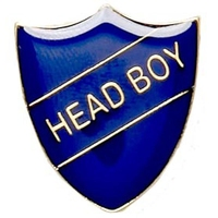 Head Boy - Badge (Blue)