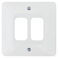 Sollysta 2G White Grid Plate