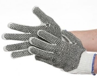 Mixed Fibre PVC Dot glove