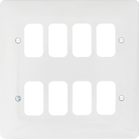 8G White Moulded Plate | LV0301.0620