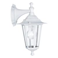 EGLO Laterna 5 White Lantern Drop Down IP44 Wall Light | LV1902.0112