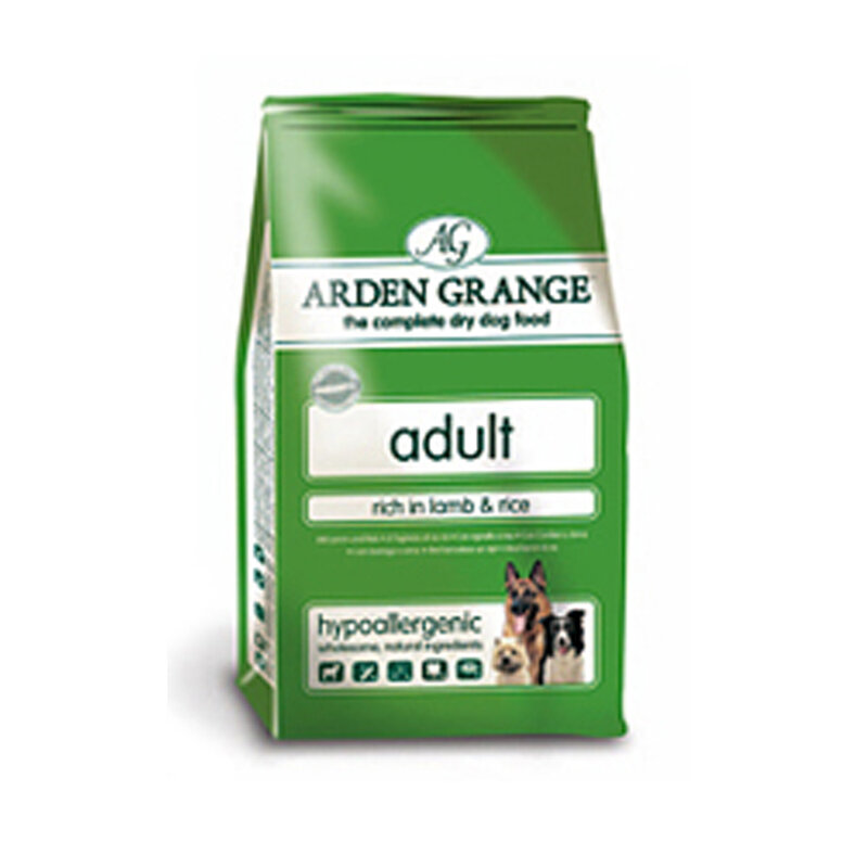 Arden Grange Lamb & Rice Adult Dog Food 6kg