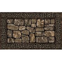 Gardag Reground Rubber Doormat Cobblestone 46cm x 76cm