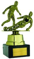19cm Gold Double Soccer (M) Figure on Black M