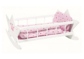 Toy rocking cradle for Dolls