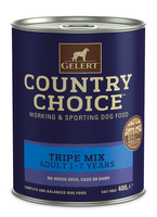 Gelert Country Choice Original Working Tripe Dog Cans 400g x 12 [Zero VAT]
