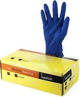 Blue High Risk Latex P/Free Gloves Box 50