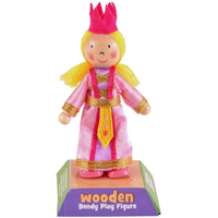 Wooden Play Figure - Princess