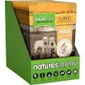 Natures:Menu Turkey & Chicken Dog Pouch 300g x 8