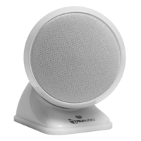 TruAudio SAT3-WT Premium round Satellite Speaker