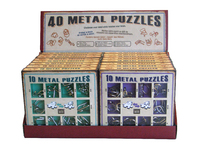 Metal Puzzle Display.