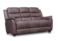 Vivo Brown Fabric Sofa 1
