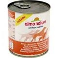 Almo Nature Classic Adult Dog Can - with Beef with Ham 280g x 12