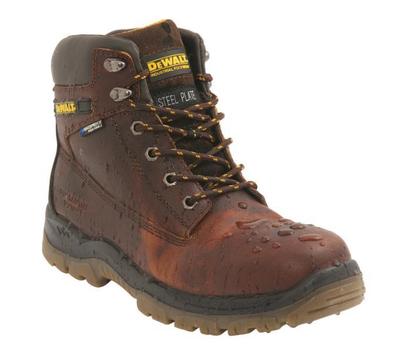 DeWALT Titanium Hiker Waterproof Boot Tan S3 WR SRA