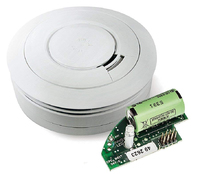 EI ELECTRONICS OPTICAL SMOKE ALARM WITH  10 YEAR BATTERY, INTERCONECT WITH RF