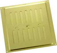"""MAP ADJUSTABLE VENT GOLD 9"""" X 9"""""""