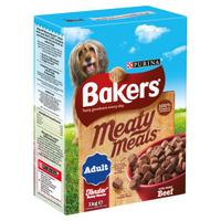 Bakers Complete Meaty Meals - Beef 1kg x 4