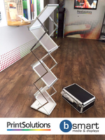 bsmart A4 | 6 Layer Brochure Stand