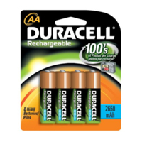 DURACELL RECHARGE AA PK.4 (1300MA)