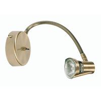 Ronmore Flexi-Head GU10 Spot Antique Brass