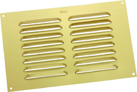 """MAP METAL LOUVRE VENT GOLD 9"""" X 6"""""""