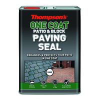 THOMPSONS ONE COAT PATIO & BLOCK PAVING SEAL 5 LTR
