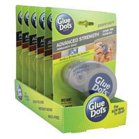 Glue Dots Dispenser Advanced Strength 125 dots - Tray Pack