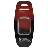 Shure EABKF1 | BLACK FOAM SLEEVES MEDIUM