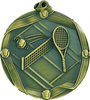 60mm Tennis Medallion (Antique Gold)