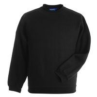 Papini Black 280g Premium Weight Sweat Shirt