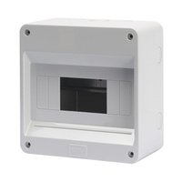 Gewiss 8 MOD Surface IP40 Enclosure No Door