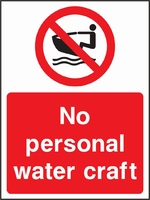 Water Safety Sign WATE0009-1806
