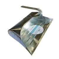 Leecroft Galvanised Metal Dustpan